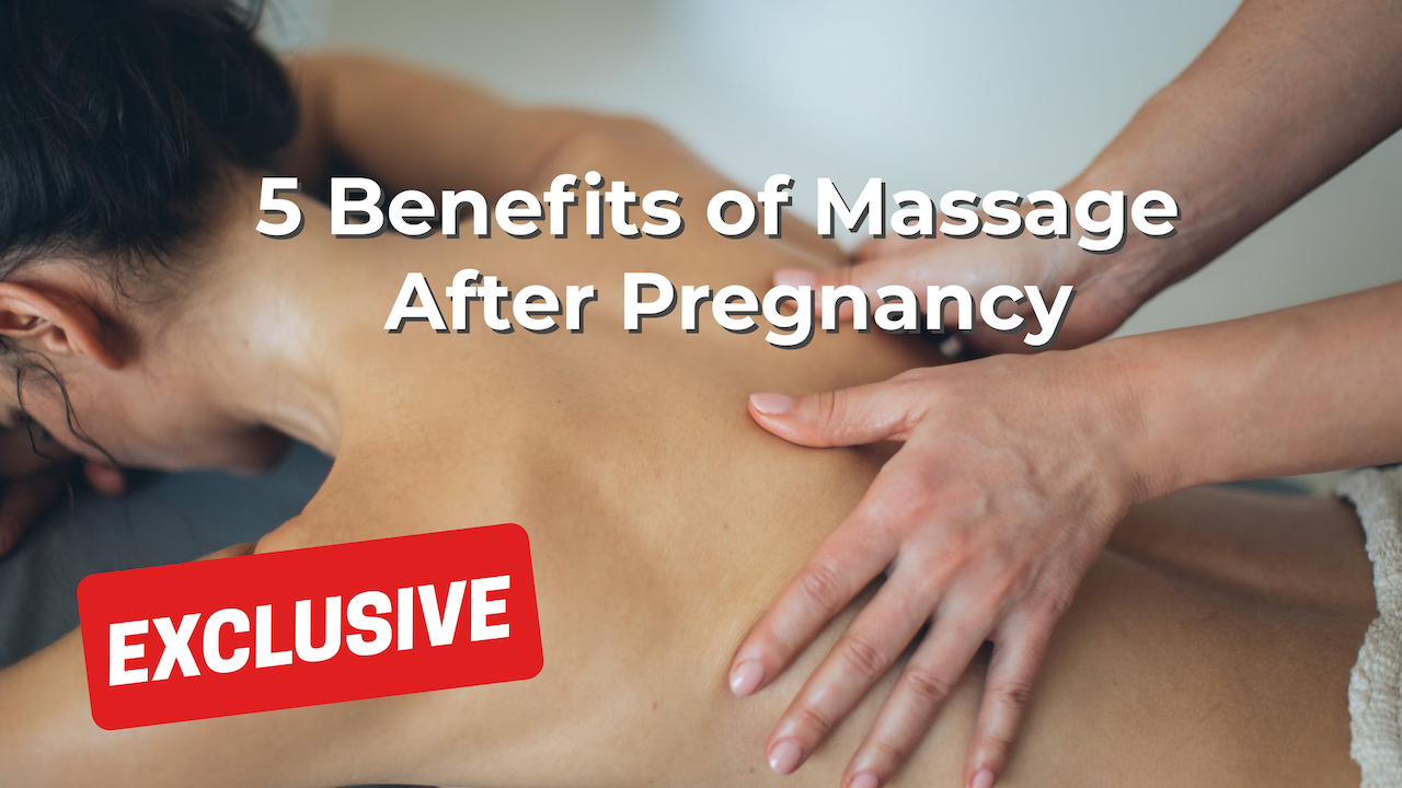 Liability Insurance: 5 Benefits of Massage After Pregnancy